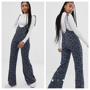 Floral Jumper Overall